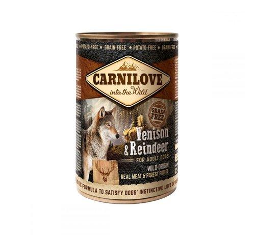 Carnilove Carnilove blikvoeding Hert & Rendier 400 gr