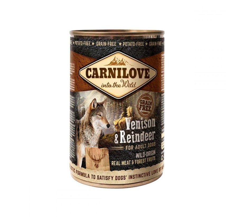 Carnilove blikvoeding Hert & Rendier 400 gr