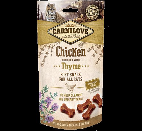 Carnilove Carnilove kattensnacks soft snack - Kip met tijm