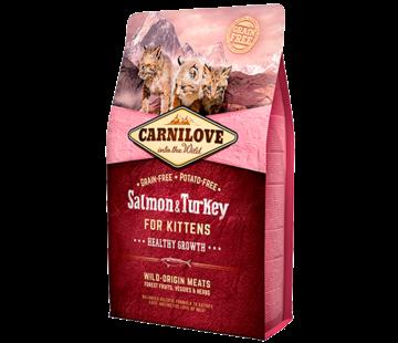 Carnilove Carnilove Salmon & Turkey Kittens 2 kg