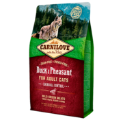 Carnilove Carnilove Duck & Pheasant Hairball 2 kg