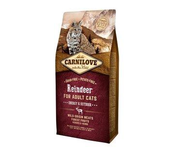 Carnilove Carnilove Reindeer Energy/outdoor 6 kg