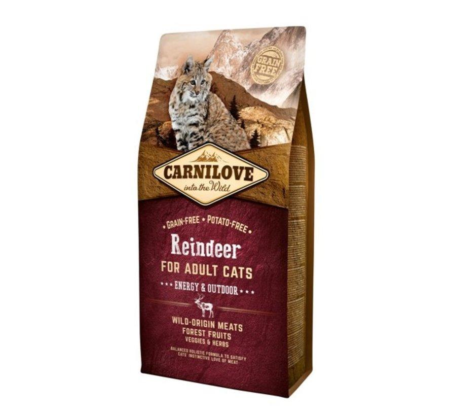 Carnilove Reindeer Energy/outdoor 6 kg