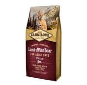 Carnilove Carnilove Lamb & Wild boar Sterilised 6 kg