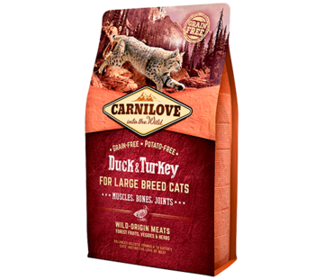 Carnilove Carnilove Duck & Turkey Large breed 2 kg