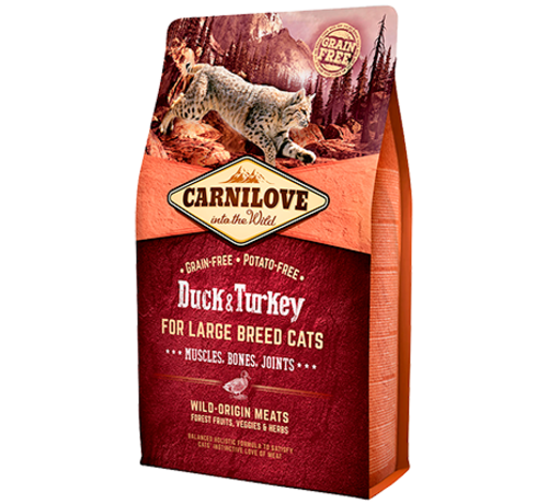 Carnilove Carnilove Duck & Turkey Large breed 2 kg