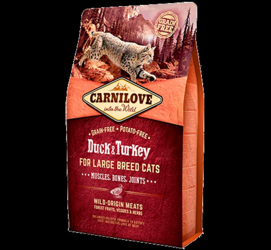 Carnilove Duck & Turkey Large breed 2 kg