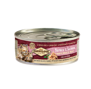 Carnilove Carnilove Blikvoeding Kitten Turkey & Salmon 100 gr