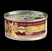 Carnilove Carnilove Blikvoeding Chicken & Lamb 100 gr