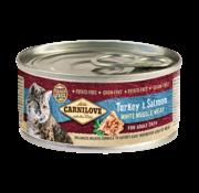 Carnilove Carnilove blikvoer Turkey & Salmon 100 gram