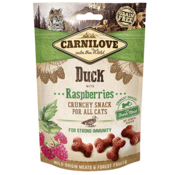 Carnilove Carnilove kattensnacks crunchy - Eend met framboos