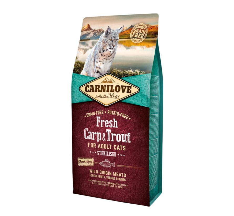Carnilove fresh Carp & Trout Sterilised 6kg