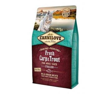 Carnilove Carnilove Fresh Carp & Trout Sterilised 2kg