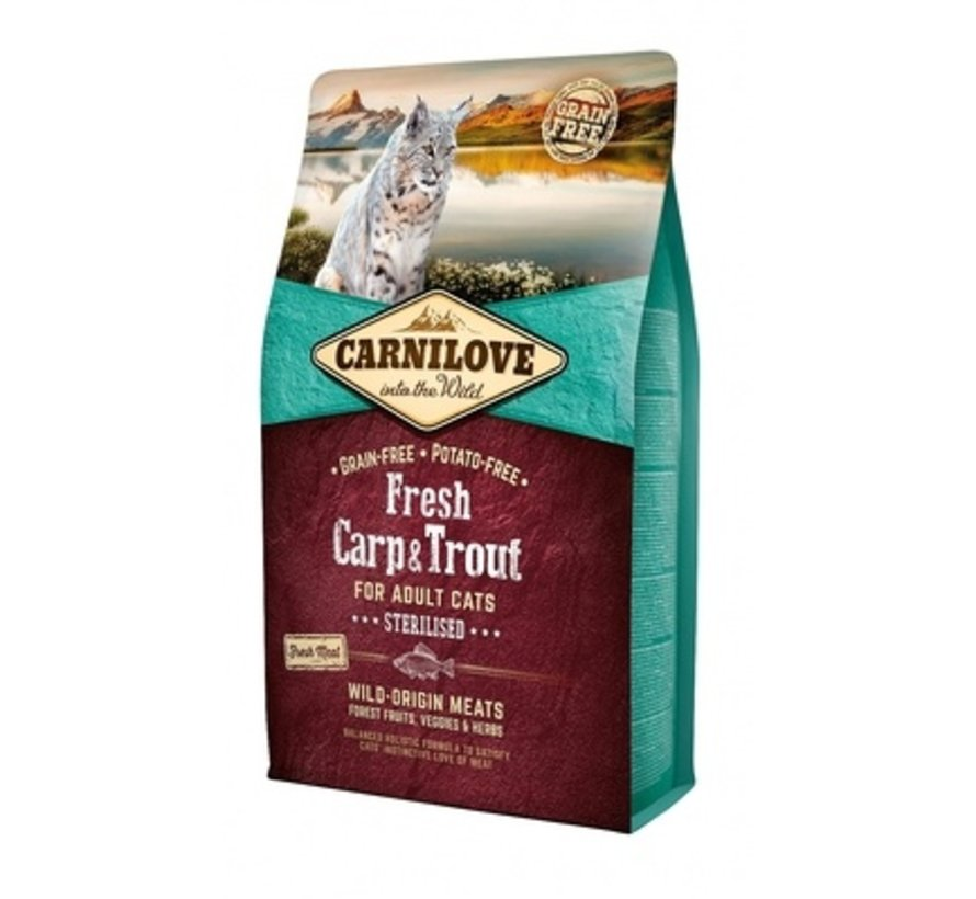 Carnilove Fresh Carp & Trout Sterilised 2kg