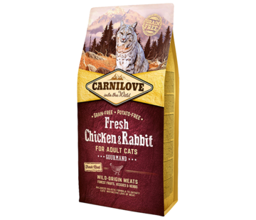 Carnilove Carnilove Fresh Chicken & Rabbit 6kg