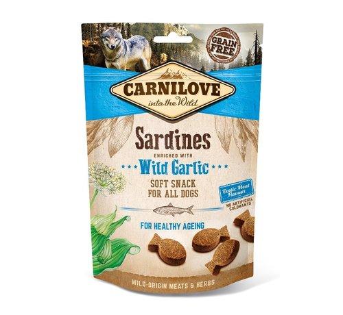 Carnilove Carnilove Soft Snack Sardines with Wild Garlic 200gr