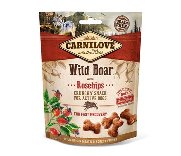 Carnilove Carnilove Crunchy Snack Wild Boar with Rosehips 200gr