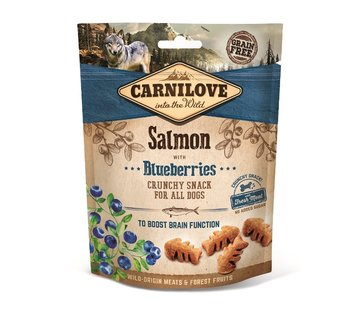 Carnilove Carnilove Crunchy Snack Salmon with Blueberries 200gr