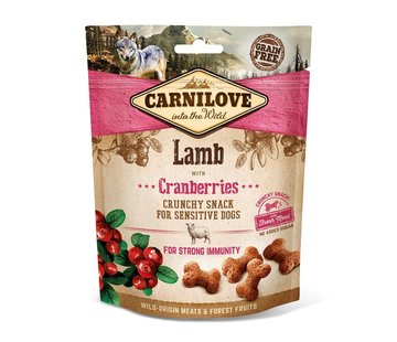 Carnilove Carnilove Crunchy Snack Lamb with Cranberries 200gr
