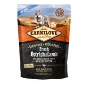 Carnilove Carnilove Fresh Ostrich & Lamb for small dogs 1,5kg