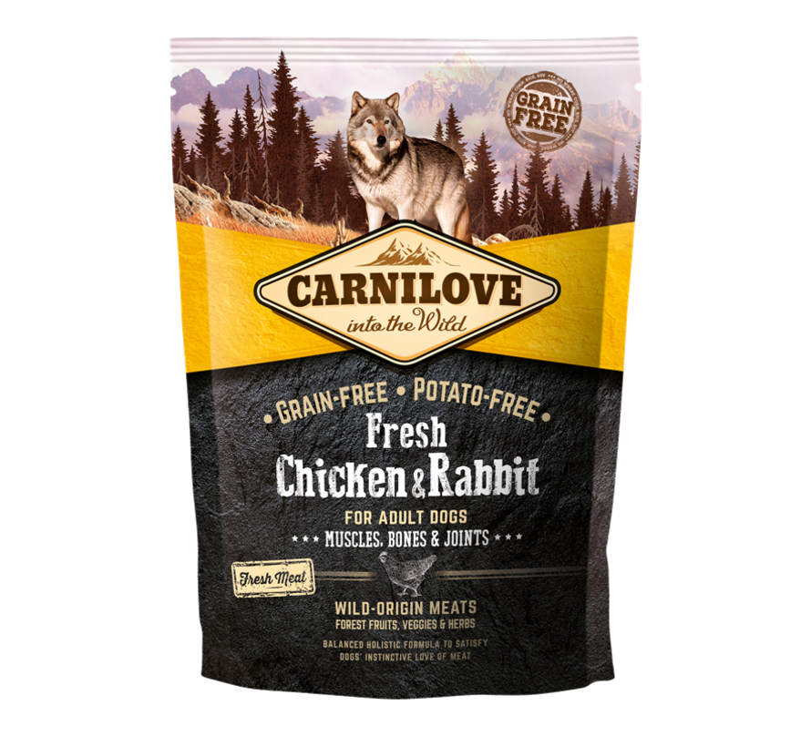 Carnilove Fresh Chicken & Rabbit 1,5kg