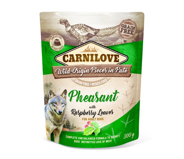 Carnilove Carnilove Paté Pheasant with Raspberry Leaves 300g
