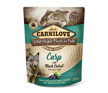 Carnilove Carnilove Paté Carp with Black Carrot 300 g