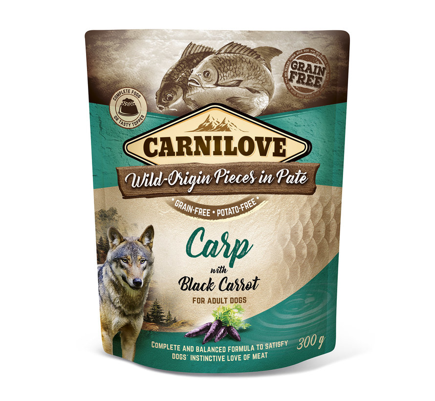 Carnilove Paté Carp with Black Carrot 300 g
