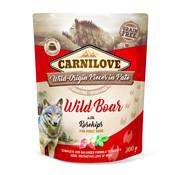 Carnilove Carnilove Paté Wild Boar with Rosehips 300g