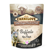 Carnilove Carnilove Paté Buffalo with Rose Petals 300g