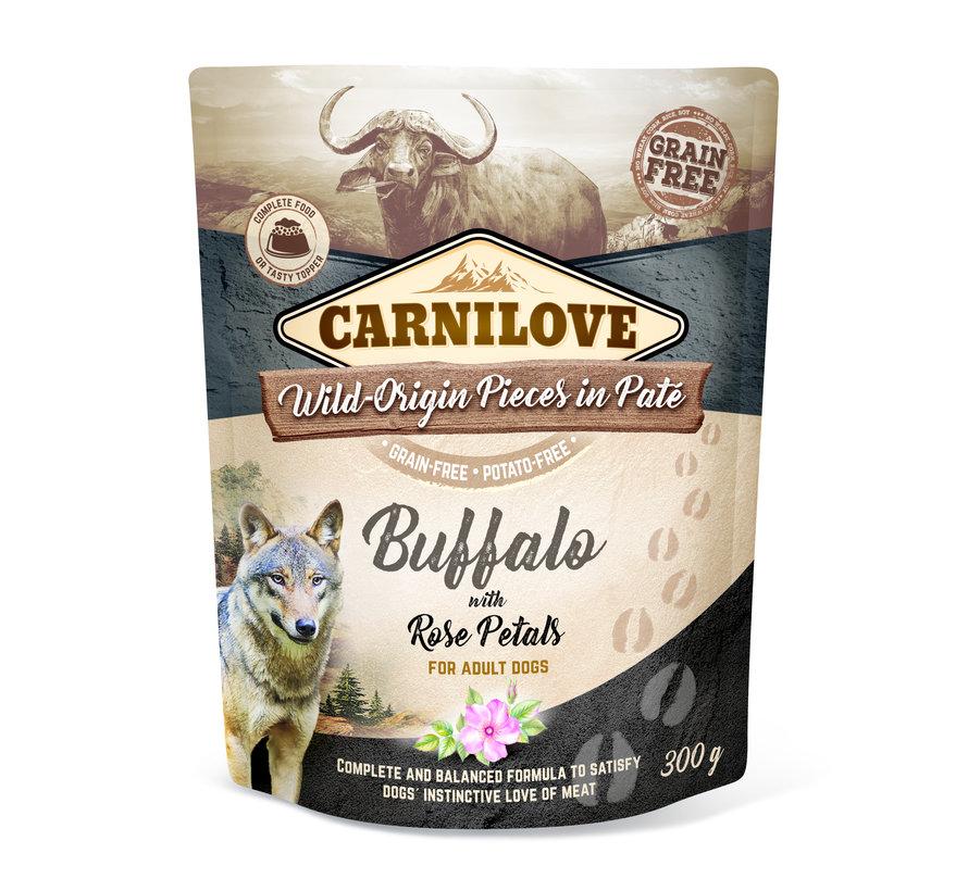 Carnilove Paté Buffalo with Rose Petals 300g