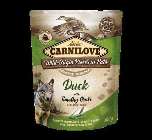 Carnilove Carnilove Paté Duck with Timothy Grass 300g