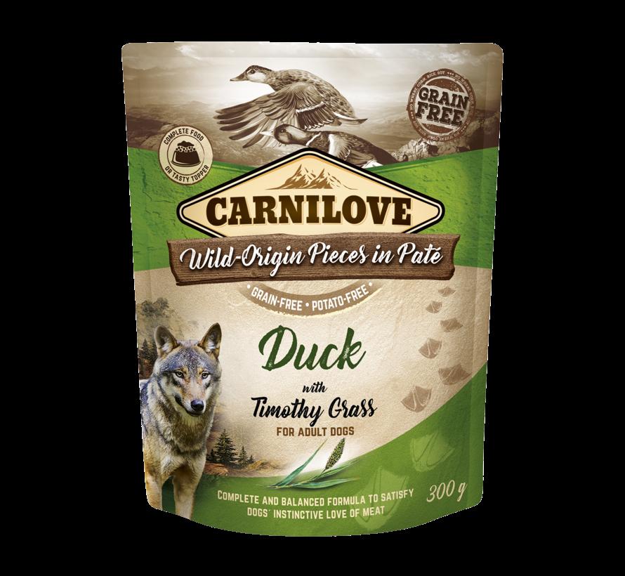 Carnilove Paté Duck with Timothy Grass 300g