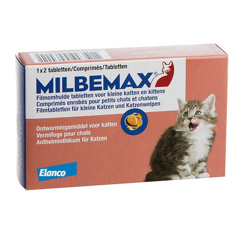 Milbemax Milbemax Kleine katten en kittens