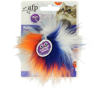 AFP AFP Furry Fluffy Ball Orange