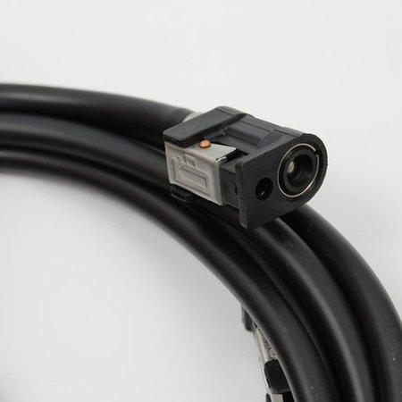 Benzineslang 6mm 3 meter met balg en 2 Yamaha connectoren