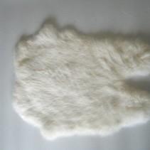 Konijnenvacht 40 x 30cm wit