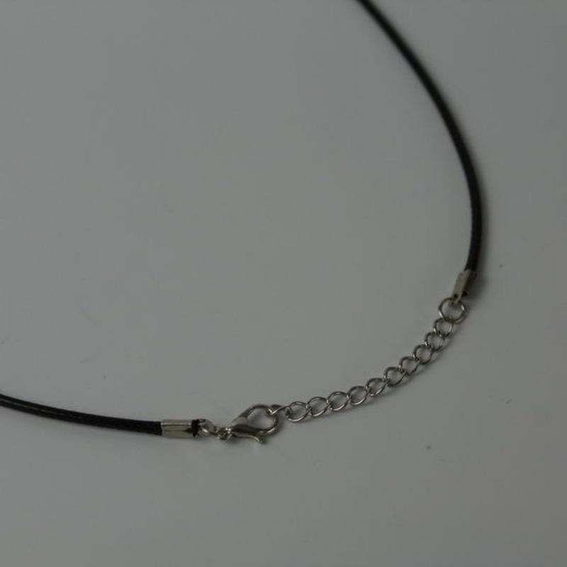 Paarse Aderen Agaat ronde holle Ketting