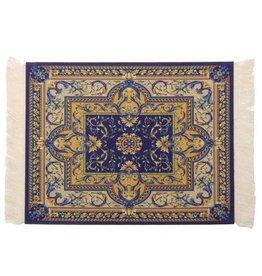 Janshop Blauw 275x180mm Vintage Muismat Perzisch Tapijt Met Kwastjes