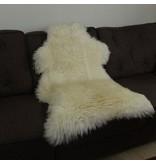 Australische Schapenvacht 120 x 65cm natuurlijk wit