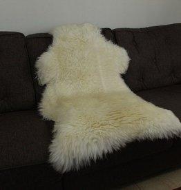 Janshop Australische Schapenvacht 120 x 65cm natuurlijk wit