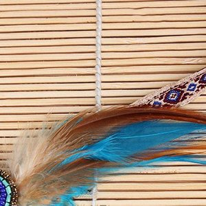 Fashion Festival veren hoofdband Hippie haarband Ibiza Boho