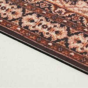 Janshop Rood 280x180mm Vintage Muismat Perzisch Tapijt Met Kwastjes
