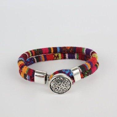 Katoenen Ibiza Armbandjes
