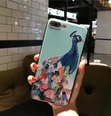Pauw Olieverf Stijl iPhone 7/8 Hoesje