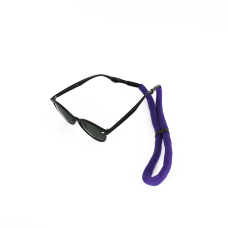 Drijvend sport brillenkoord paars