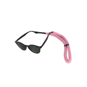 Drijvend sport brillenkoord roze