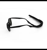 Drijvend sport brillenkoord zwart