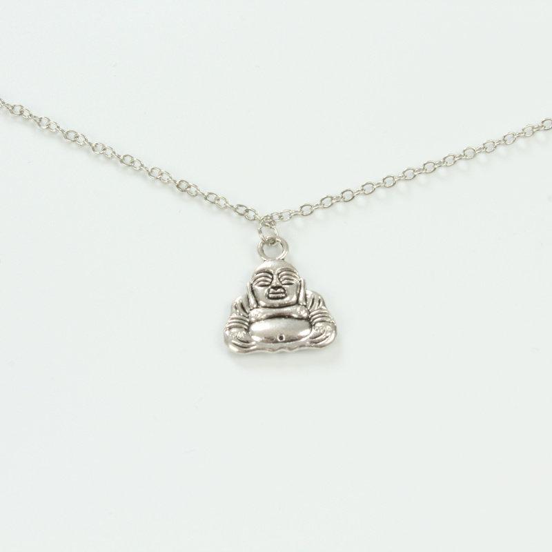 Janshop Brillenkoord hip Ibiza zilveren Boeddha