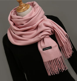 Cashmere Sjaal Baby Roze